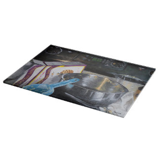 台所アクリルの絵画のまな板 カッティングボード
