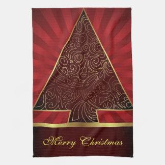 台所タオルのメリークリスマス キッチンタオル