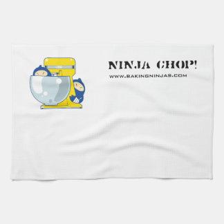 台所タオル: 忍者のチョップ! キッチンタオル