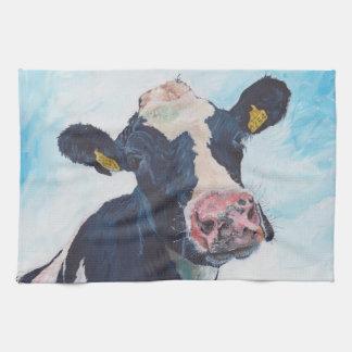 台所タオル- 0254人のアイルランド人のFriesian牛 キッチンタオル