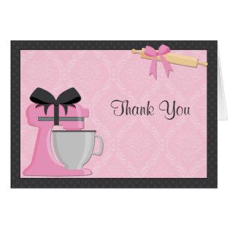 台所ブライダルシャワーは感謝していしています カード
