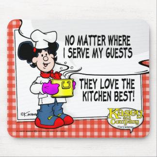 台所ベストを愛して下さい マウスパッド