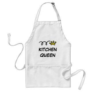 台所女王のエプロン の調理し、焼けるユーモア スタンダードエプロン