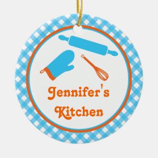 台所家族のレシピのオーナメント セラミックオーナメント