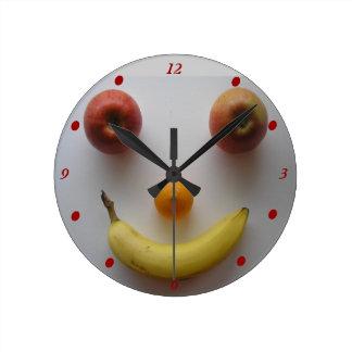 台所柱時計 ラウンド壁時計