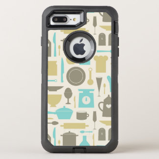 台所用具のパターン オッターボックスディフェンダーiPhone 8 PLUS/7 PLUSケース