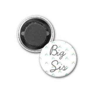 台所磁石|大きいSisの姉妹の写真のホールダー マグネット
