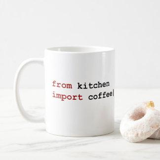 台所輸入のコーヒー-大蛇のマグから コーヒーマグカップ
