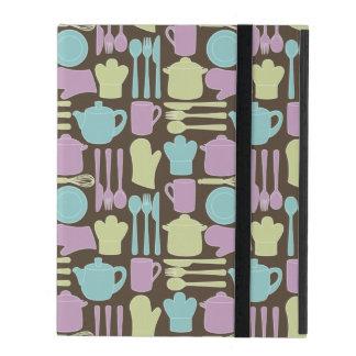 台所道具パターン2 iPad ケース