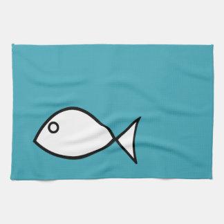 台所魚タオルの夏のコレクション キッチンタオル