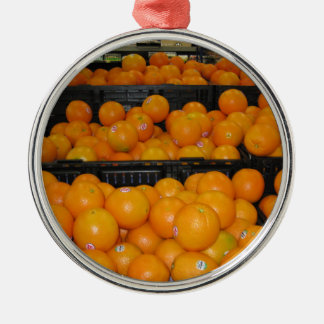 台所ectのためのKnoxvilleの動物園の029.JPGトマトのフルーツ メタルオーナメント
