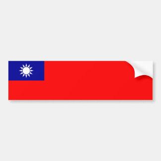 台湾か台湾のステッカー バンパーステッカー