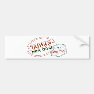 台湾そこにそれされる バンパーステッカー