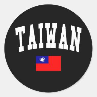 台湾のスタイル ラウンドシール