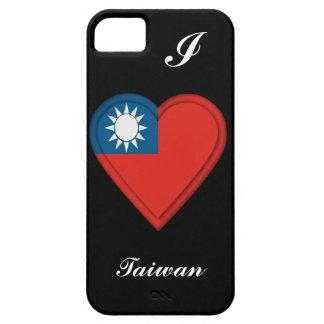 台湾の台湾の旗: 文字を加えて下さい iPhone SE/5/5s ケース
