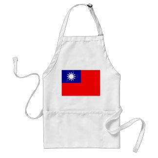 台湾の国民の世界の旗 スタンダードエプロン