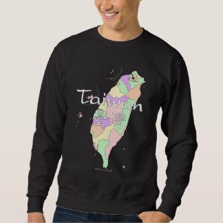 台湾の地図 スウェットシャツ