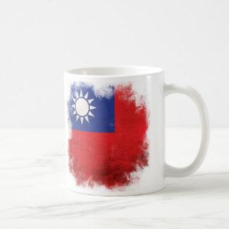 台湾の旗はカッコいい衰退しました コーヒーマグカップ