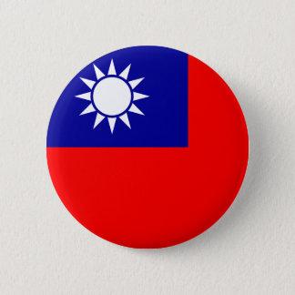 台湾の旗ボタン 5.7CM 丸型バッジ