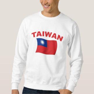 台湾の旗3 スウェットシャツ