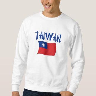 台湾の旗 スウェットシャツ