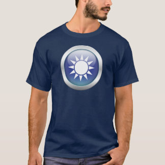 """台湾の旗""""球体"""" Tシャツ"""