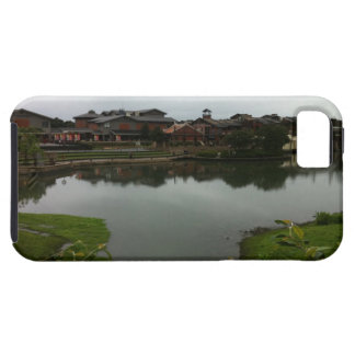 台湾の湖の家 iPhone SE/5/5s ケース