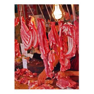 台湾の肉屋 ポストカード