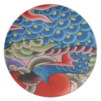 台湾の芸術 プレート
