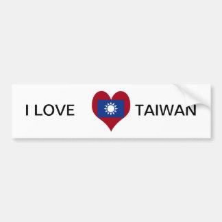台湾中華民国の旗 バンパーステッカー