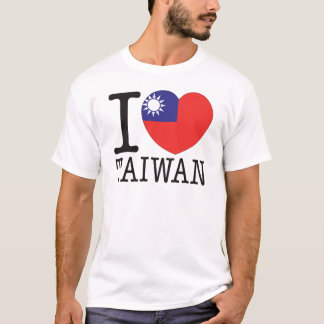 台湾愛v2 tシャツ