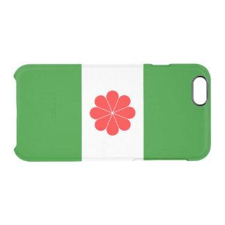 台湾独立運動のゆとりのiPhoneの場合の旗 クリアiPhone 6/6Sケース