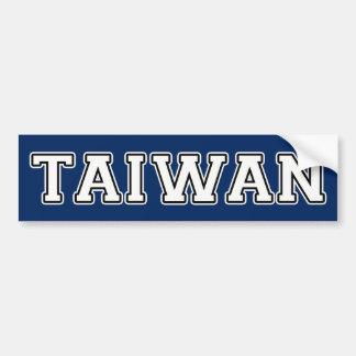 台湾 バンパーステッカー