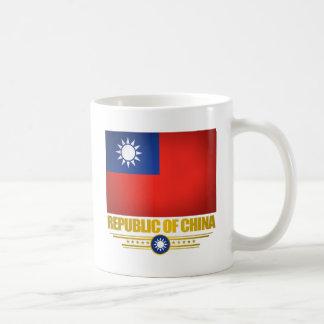 台湾(中華民国)の旗 コーヒーマグカップ