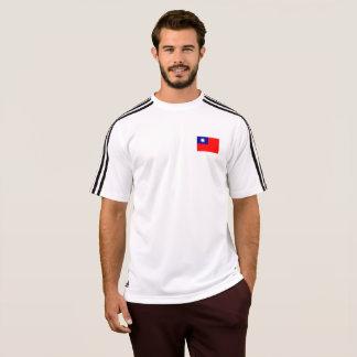 台湾(ROC)のTシャツのメンズ旗 Tシャツ