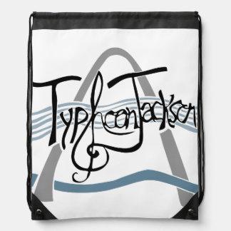 台風のジャクソンのドローストリングバッグ ナップサック