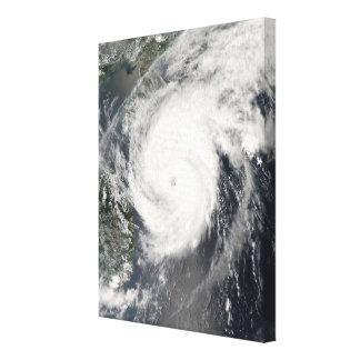 台風のNeoguriの接近の中国2 キャンバスプリント