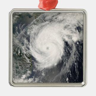 台風のNeoguriの接近の中国2 メタルオーナメント