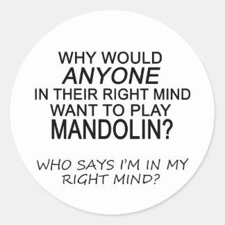 右の心のマンドリン ラウンドシール