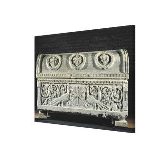 司教のセオドア石棺 キャンバスプリント