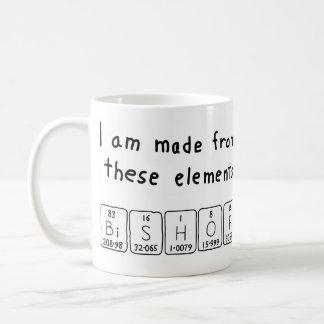 司教の周期表の名前のマグ コーヒーマグカップ
