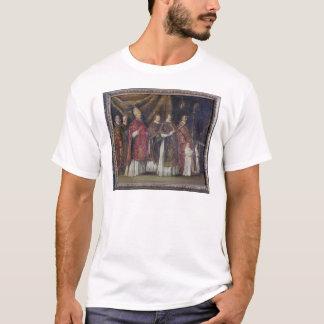 司教の固まりまたは、行列 Tシャツ