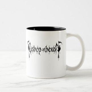 司教の` sの邪悪なコーヒー・マグ ツートーンマグカップ