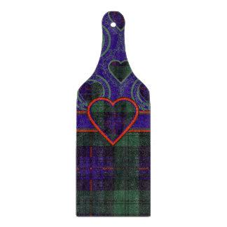 司教杖の一族の格子縞のスコットランドのキルトのタータンチェック カッティングボード