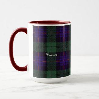 司教杖の一族の格子縞のスコットランドのキルトのタータンチェック マグカップ