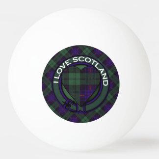 司教杖の一族の格子縞のスコットランドのキルトのタータンチェック 卓球ボール