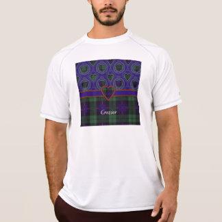 司教杖の一族の格子縞のスコットランドのキルトのタータンチェック Tシャツ