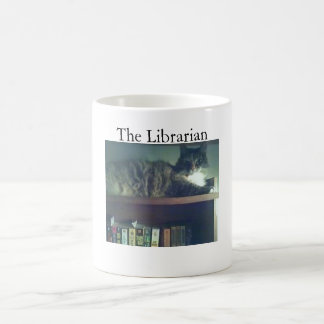 司書猫 コーヒーマグカップ