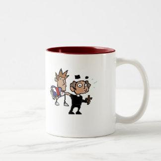司祭の強打 ツートーンマグカップ