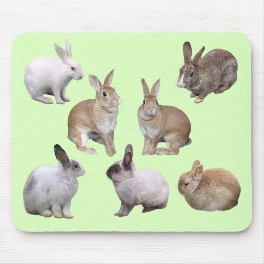 各種のウサギのマウスパッド,No.04 マウスパッド